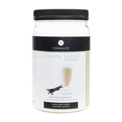 Creamy Vanilla Formulite Tub